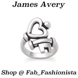 James Avery Lock key ring